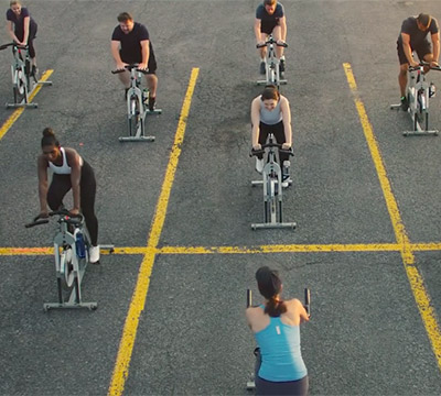 A spin class